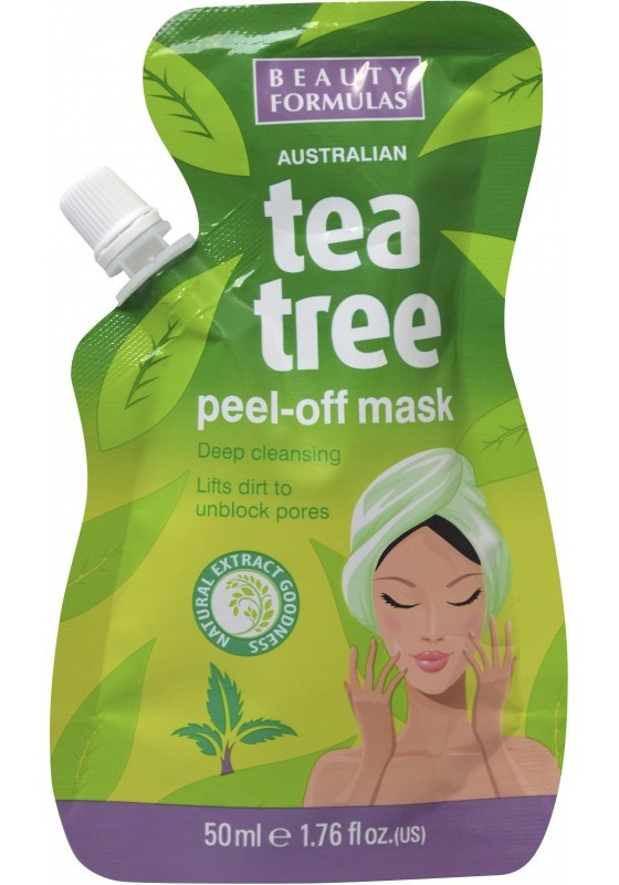 Beauty Formulas Tea Tree Peel-Off Mask
