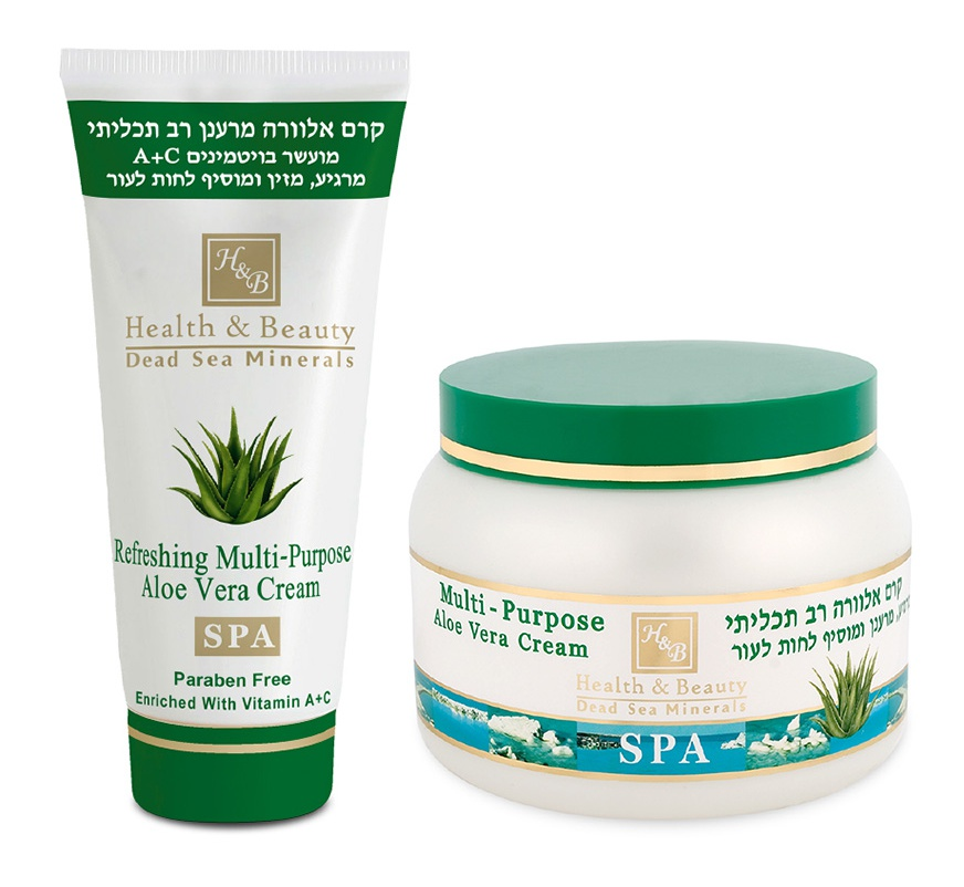 Health & Beauty Dead Sea Minerals Aloë Vera Body Cream
