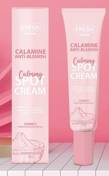 Fresh Skinlab Calamine Anti Blemish Calming Spot Cream