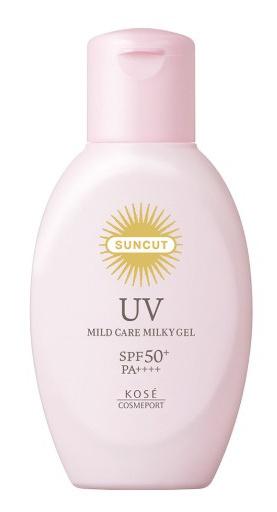 Kose Suncut Uv Mild Care Milky Gel Spf50+ Pa++++