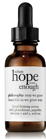 Philosophy When Hope Is Not Enough Hydrating Anti-Oxidant Serum