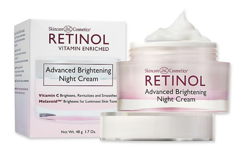 Skincare Cosmetics Retinol Advanced Brightening Night Cream