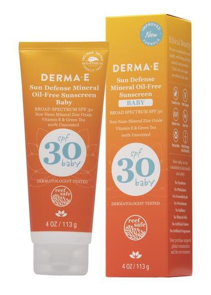Derma E Baby Natural Mineral Sunscreen
