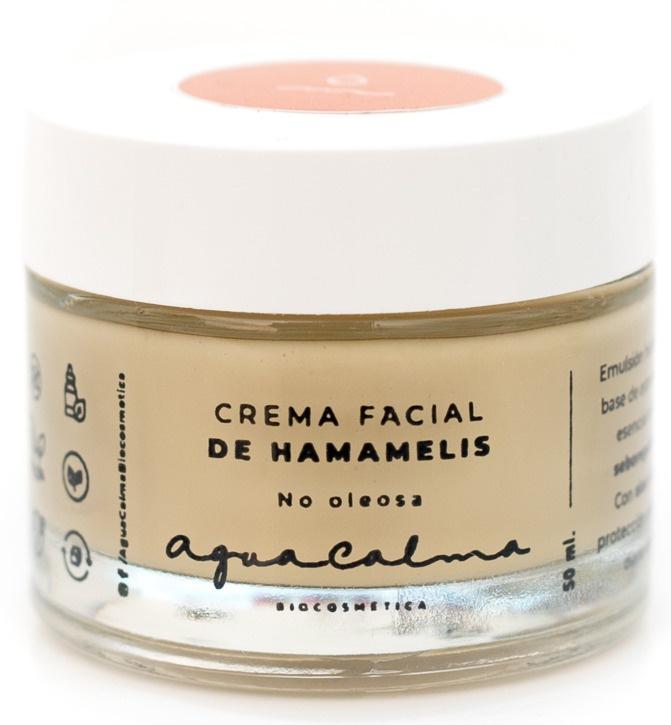 AguaCalma Crema Facial de Hamamelis Oil Free