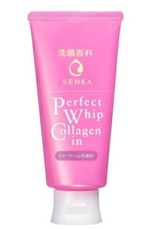 Shiseido Senka Perfect Whip Collagen Foam Cleanser