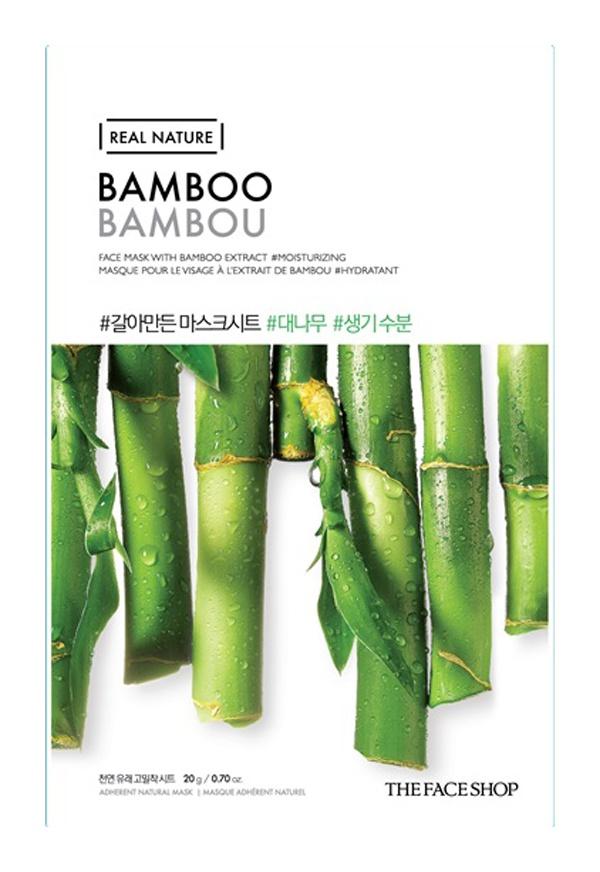 The Face Shop Real Nature Face Sheet Mask [Bamboo]