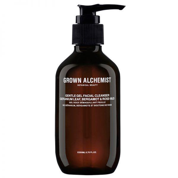 Grown Alchemist Gentle Gel Facial Cleanser: Geranium Leaf, Bergamot & Rose-Bud