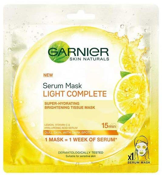 Garnier Light Complete Serum Sheet Mask