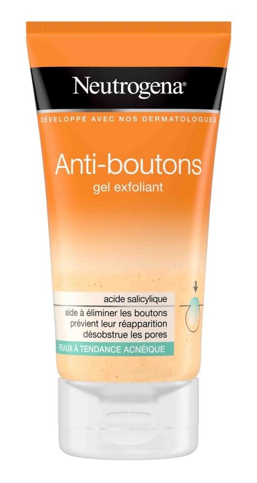 Neutrogena Anti Bouton Gel Exfoliant