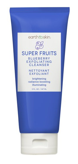 Earth To Skin Super Fruits Blueberry Exfoliating Cleanser