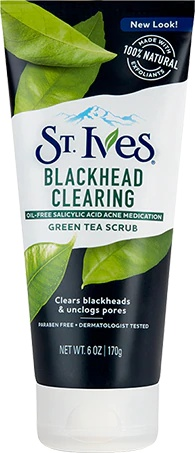 St Ives Blackhead Clearing Green Tea Face Scrub