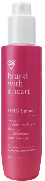 BRAND WITH A HEART Omg Smooth Leave-In Conditioning Blend