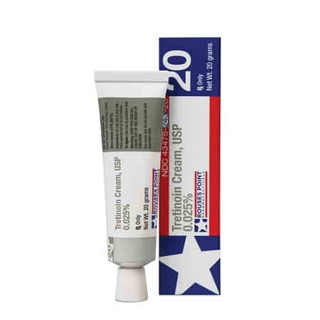 Rouses Point Pharmaceuticals Tretinoin Cream 0.025%