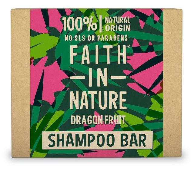 Faith in Nature Shampoo Bar Dragonfruit