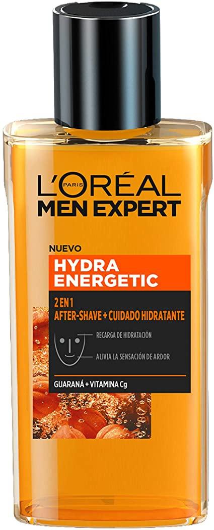 L'Oreal Paris Hydra Energetic Aftershave + Cuidado Hidratante 2 En 1