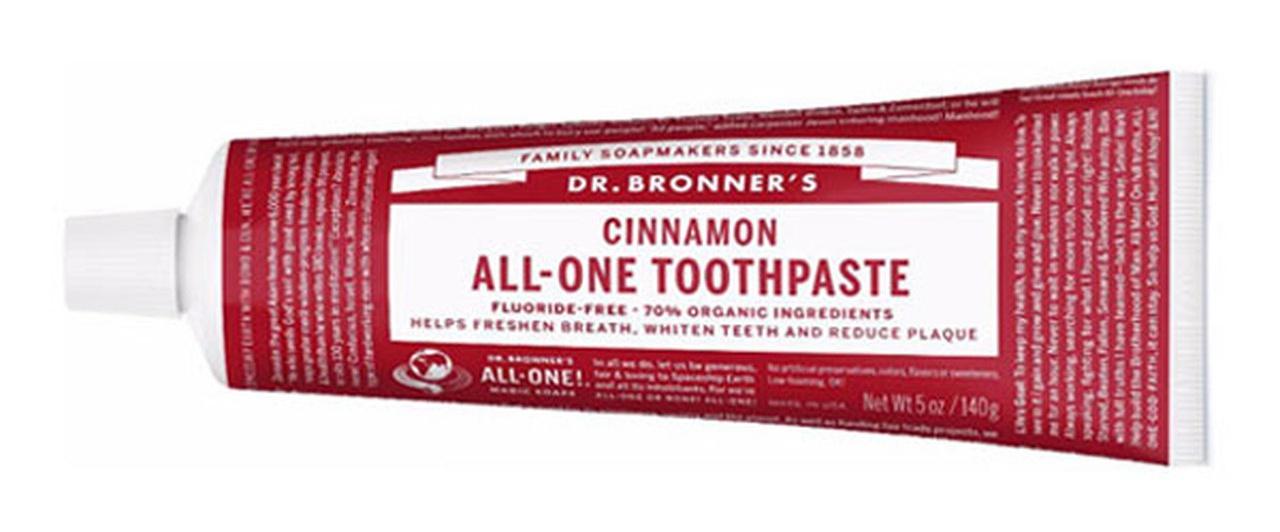 Dr. Bronner's Cinnamon Toothpaste