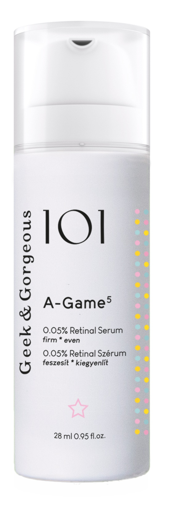 0.05% | A-Game 5 0.05% Retinal Serum
