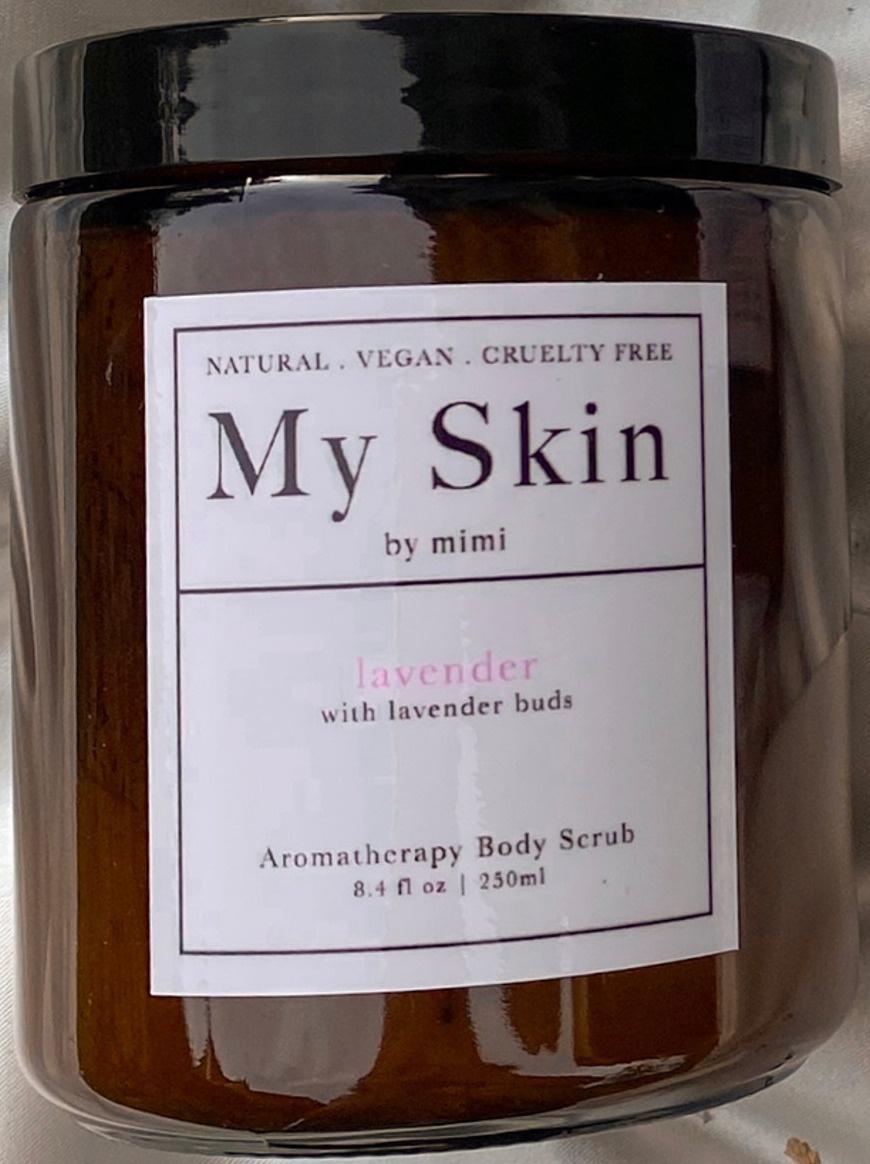 My Skin by mimi Lavender Body Scrub