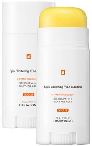 Tosowoong SOS Spot Whitening Vita Clinic Vitamin Sun Stick SPF50+ Pa+++