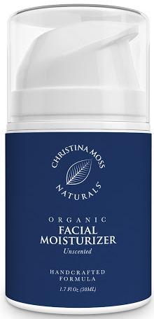 Christina Moss Naturals Organic Facial Moisturizer – Unscented