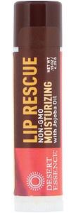 Desert Essence Lip Rescue, Moisturizing Lip Balm With Jojoba Oil