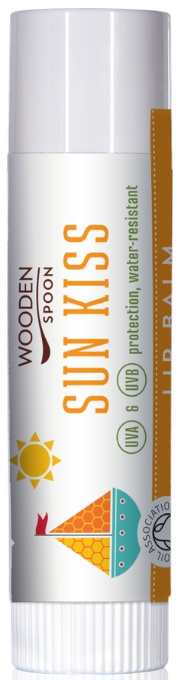 Wooden Spoon Lip Balm Sun Kiss