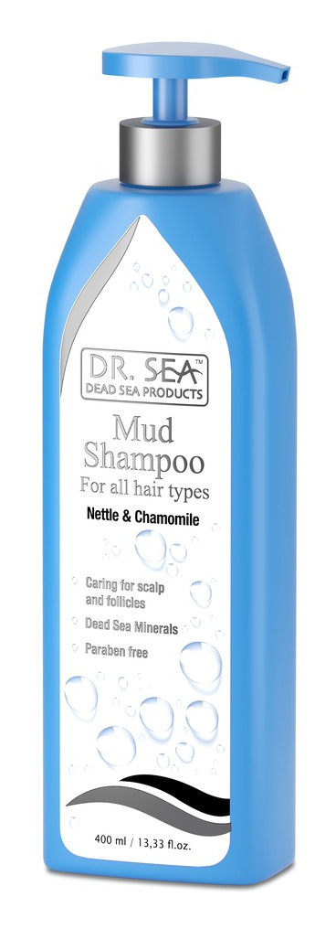 DR. SEA Mud Shampoo  Nettle & Chamomile For All Hair Types
