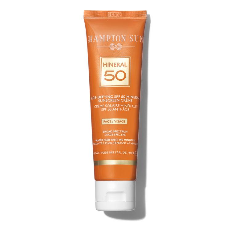 HAMPTON SUN Age-Defying SPF 50 Mineral Crème