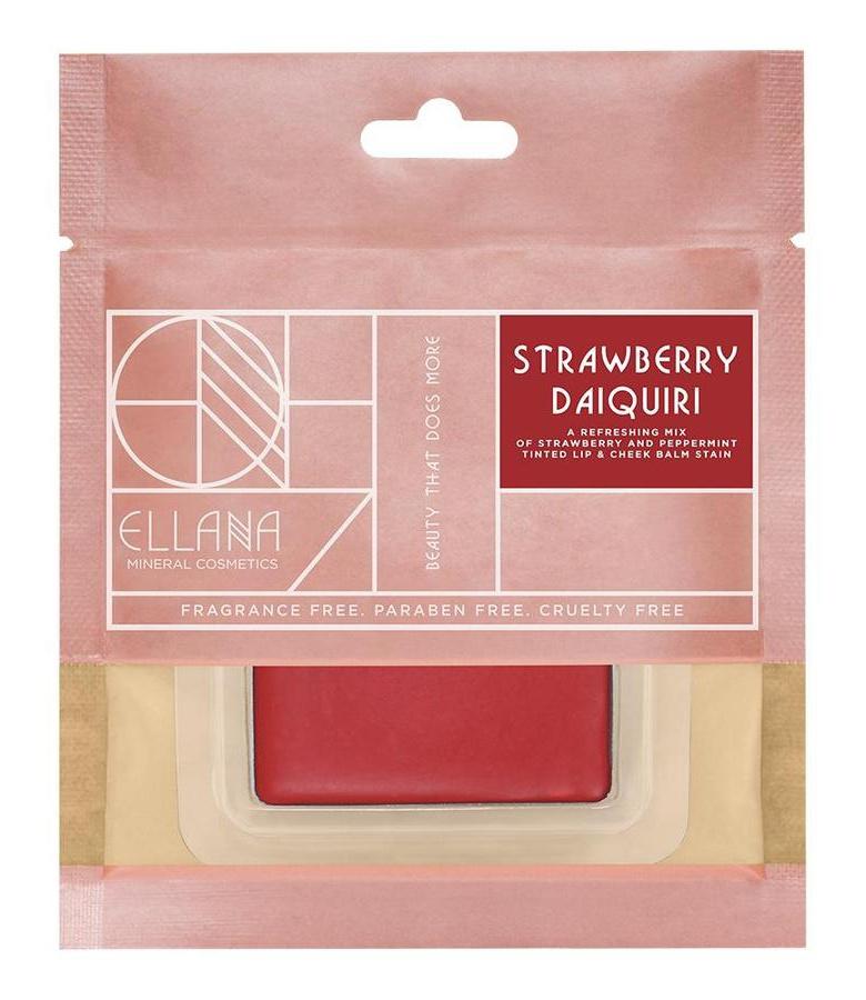 Ellana Tinted Lip And Cheek Balm Stain (Strawberry Daiquiri)