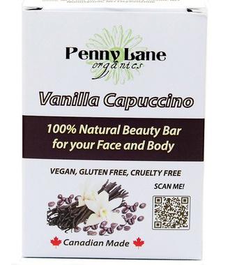 Penny Lane Organics 100% Natural Beauty Bar Vanilla Cappuccino