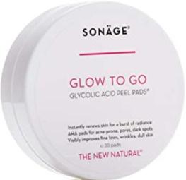 Sonage Glow To Go Glycolic Acid Peel Pads