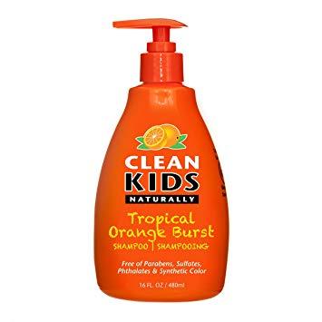 Clean Kids Naturally Tropical Orange Burst Shampoo