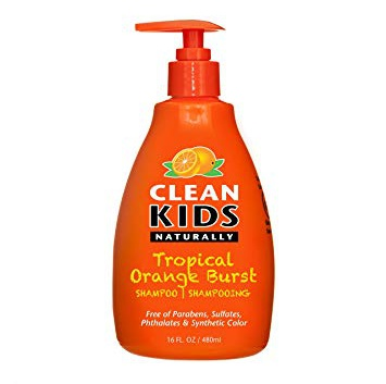 Clean Kids Naturally Tropical Orange Burst Shampoo