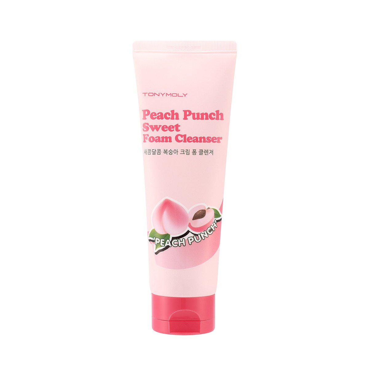 TonyMoly Peach Punch Sweet Foam Cleanser