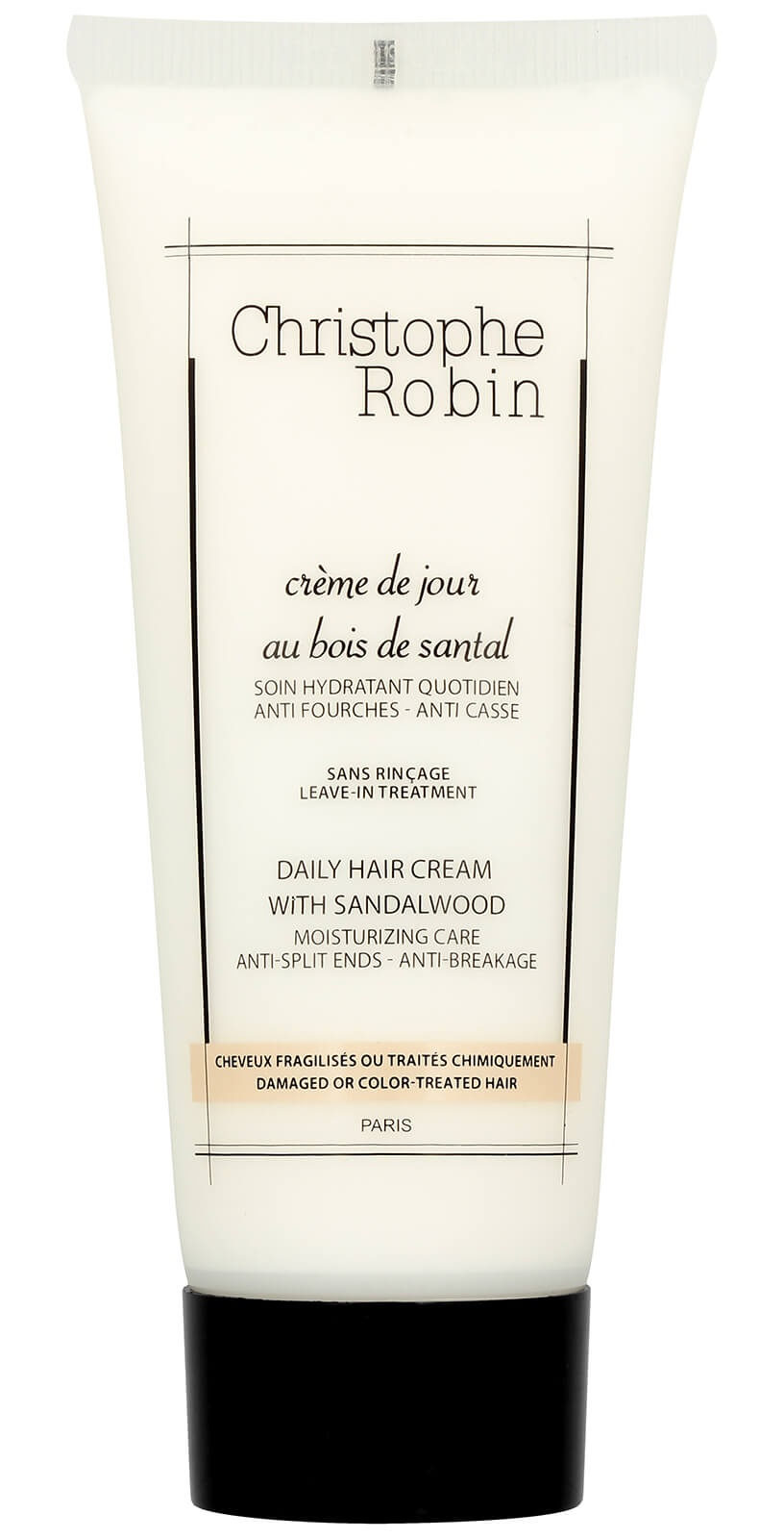 Christophe Robin Daily Leave-In Hair Cream With Sandalwood