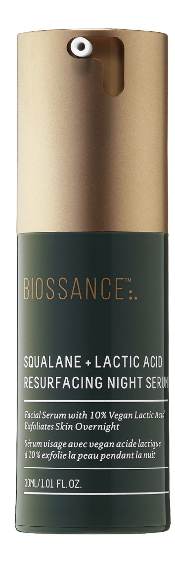 10.0% | Squalane + 10% Lactic Acid Resurfacing Night Serum