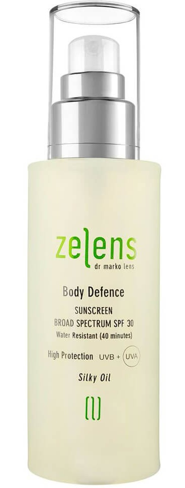Zelens Body Defence Sunscreen Broad Spectrum SPF 30