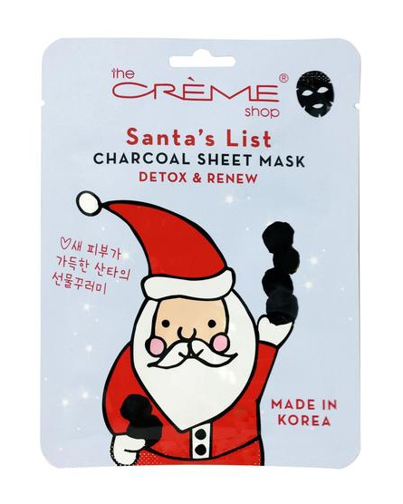 The Creme Shop Santas List Vitamin C + Peppermint Brightening & Perfecting Mask