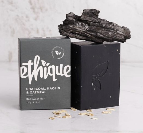 Ethique Charcoal, Kaolin & Oatmeal Solid Body Wash