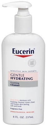 Eucerin Gentle Hydrating Foaming Cleanser