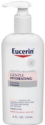 Eucerin Gentle Hydrating Foaming Cleanser