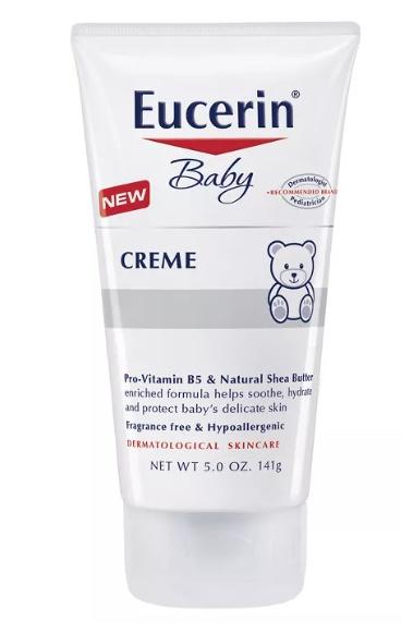Eucerin Unscented Baby Crème