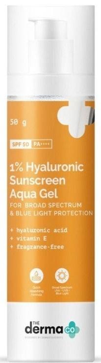 The derma CO 1% Hyaluronic Sunscreen Aqua Gel