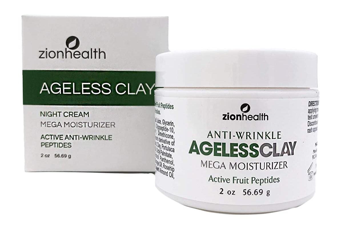 Zion Health Ageless Clay Anti-Wrinkle Cream