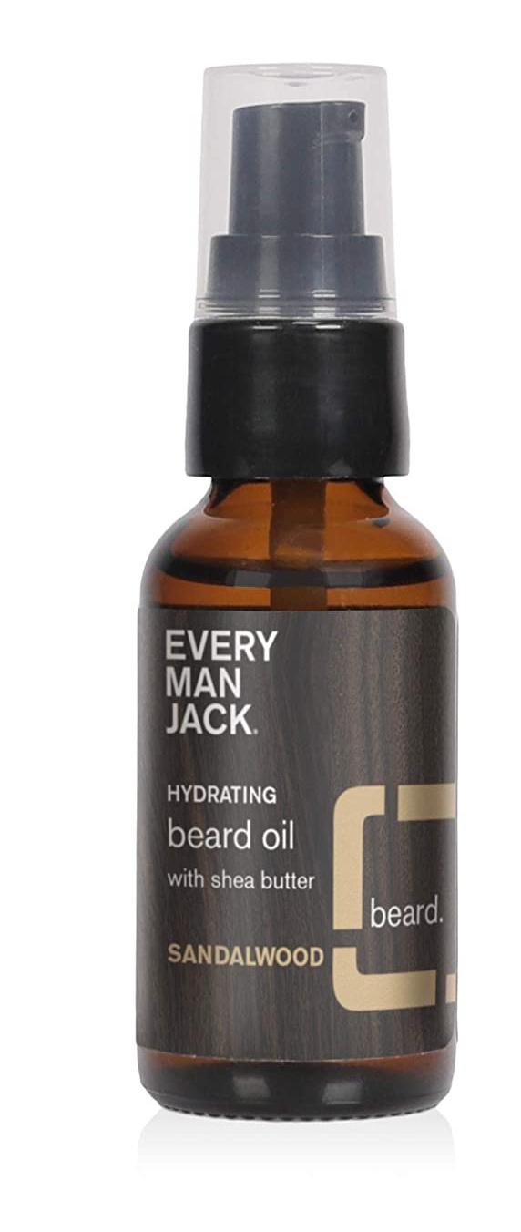 Every Man Jack Beard Oil Sandalwood