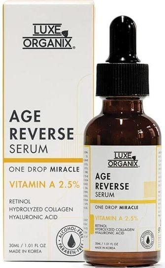 Luxe Organix Age Reverse Serum Vitamin A 2.5%