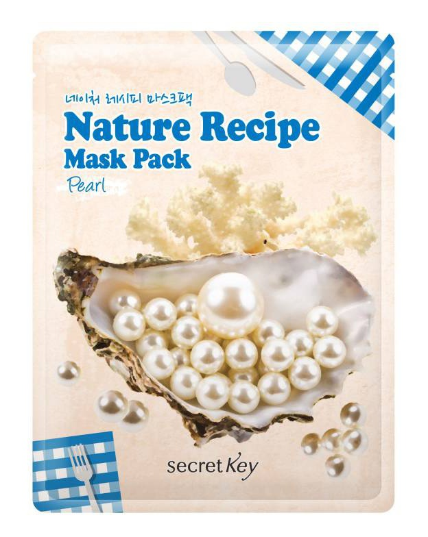 Secret Key Nature Recipe Mask (Pack Pearl)