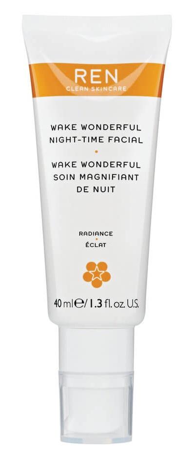 REN Wake Wonderful Night Time Facial