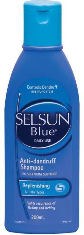 SELSUN Blue Replenishing Anti-Dandruff Shampoo