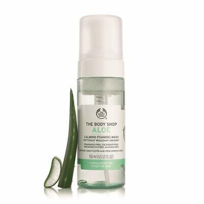 The Body Shop Aloe Foaming Face Wash